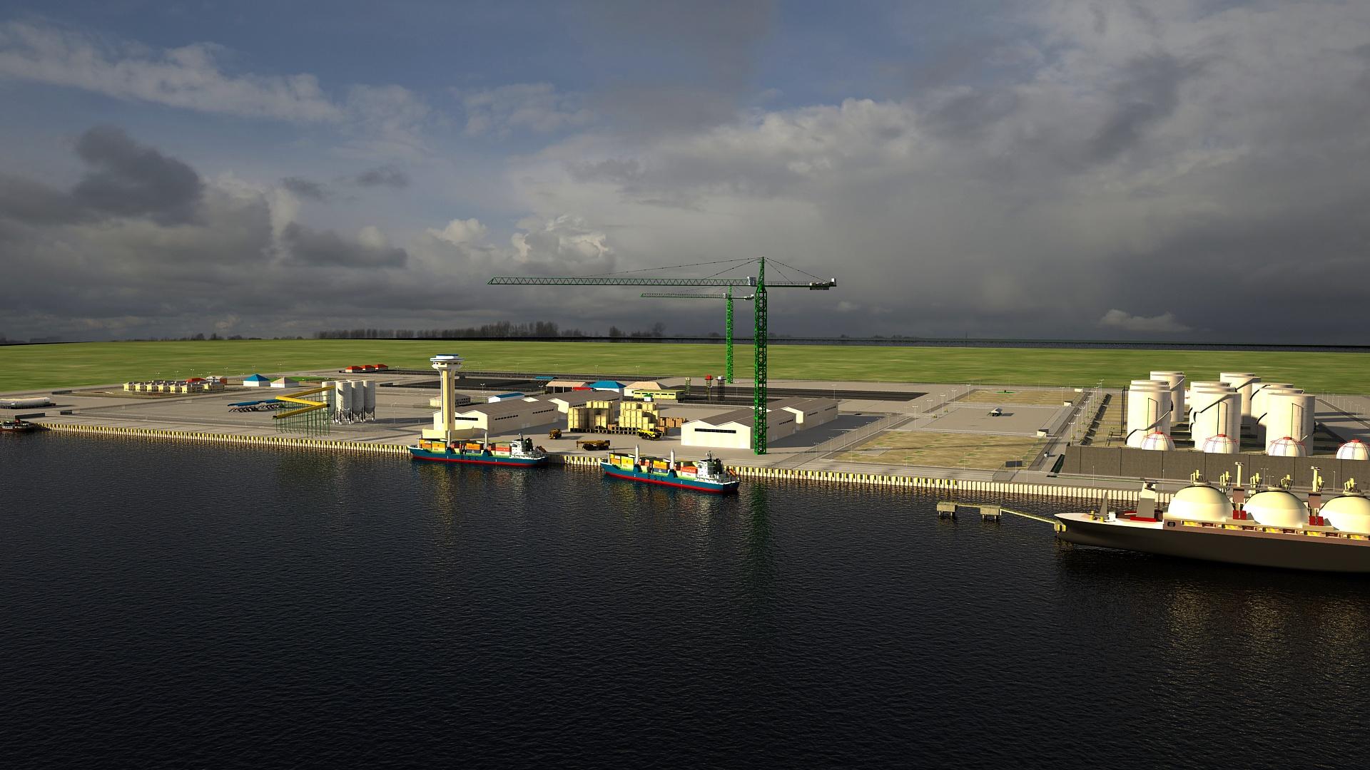 Ikot Abasi Jetty And Tank Terminal
